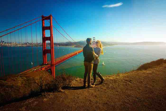 The golden gate bridge is a great place to start your Northern California road trip