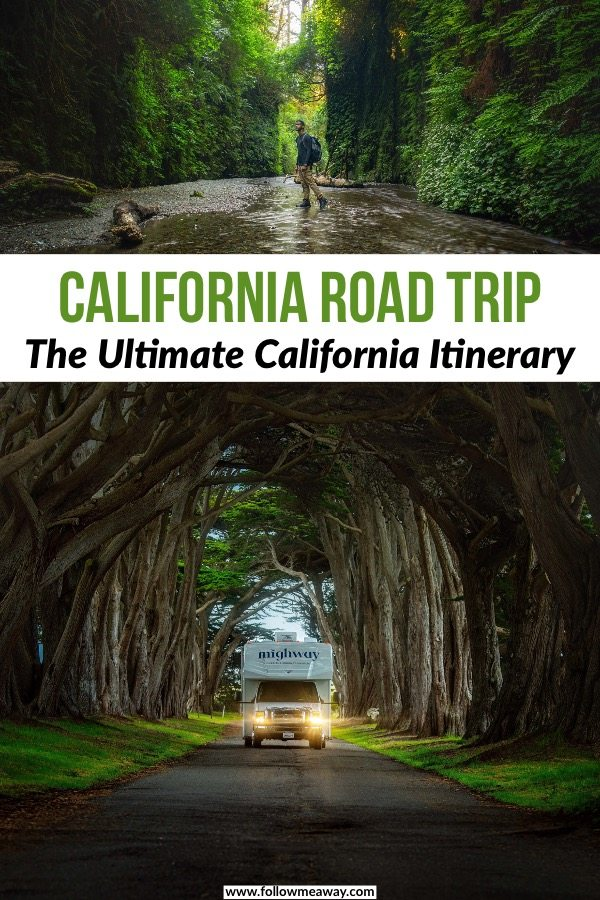 This is the perfect Northern California road trip itinerary! If you are looking for the best California road trip route, this is it! California itinerary | things to do in California | road trip in California #california #roadtrip #redwoods
