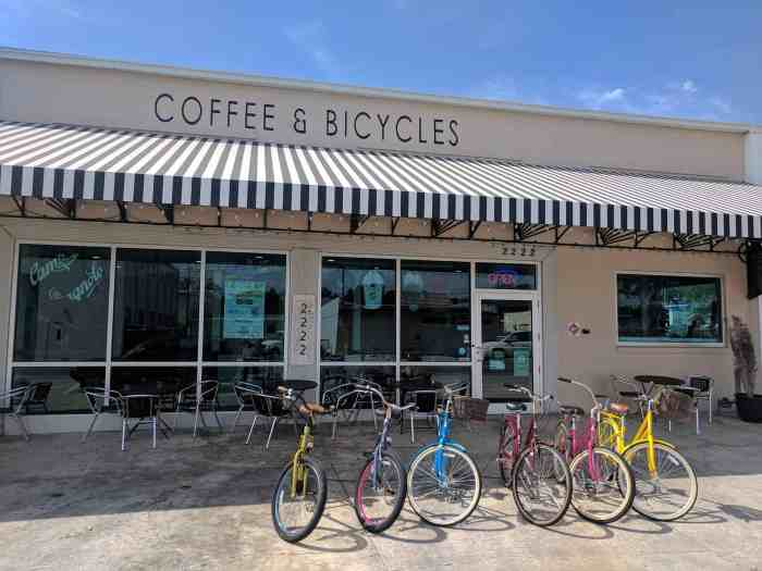 best coffee shops in tampa the bikery