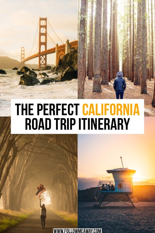 If you are looking for the perfect California road trip itinerary, this is it! From redwoods to San Francisco, this California itinerary is for you! | Northern California road trip | things to do in California | California itinerary