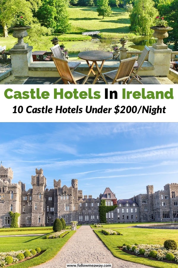 10 Best Castle Hotels In Ireland Under $200/Night | Best affordable Irish castle hotels | best castle hotels in Europe are located in Ireland | top castle hotels in Ireland | how to stay at a castle in Ireland #ireland #castle #luxury #hotel