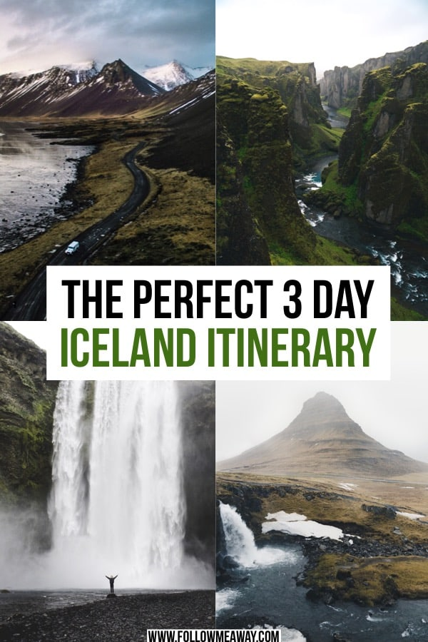 The Best 3 Days In Iceland Itinerary For Any Time Of Year | Iceland itinerary for first timers | 3 days in iceland | what to do in iceland | iceland road trip | iceland itinerary 3 days | iceland travel tips | things to do in Iceland