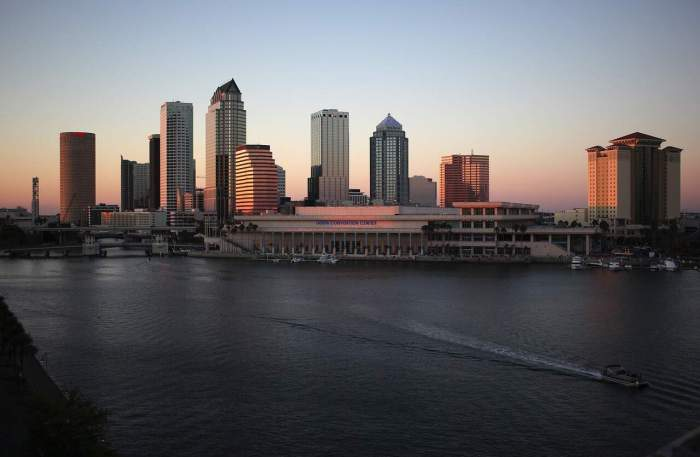 Flying into cities in Florida such as Tampa is a popular way to get to florida