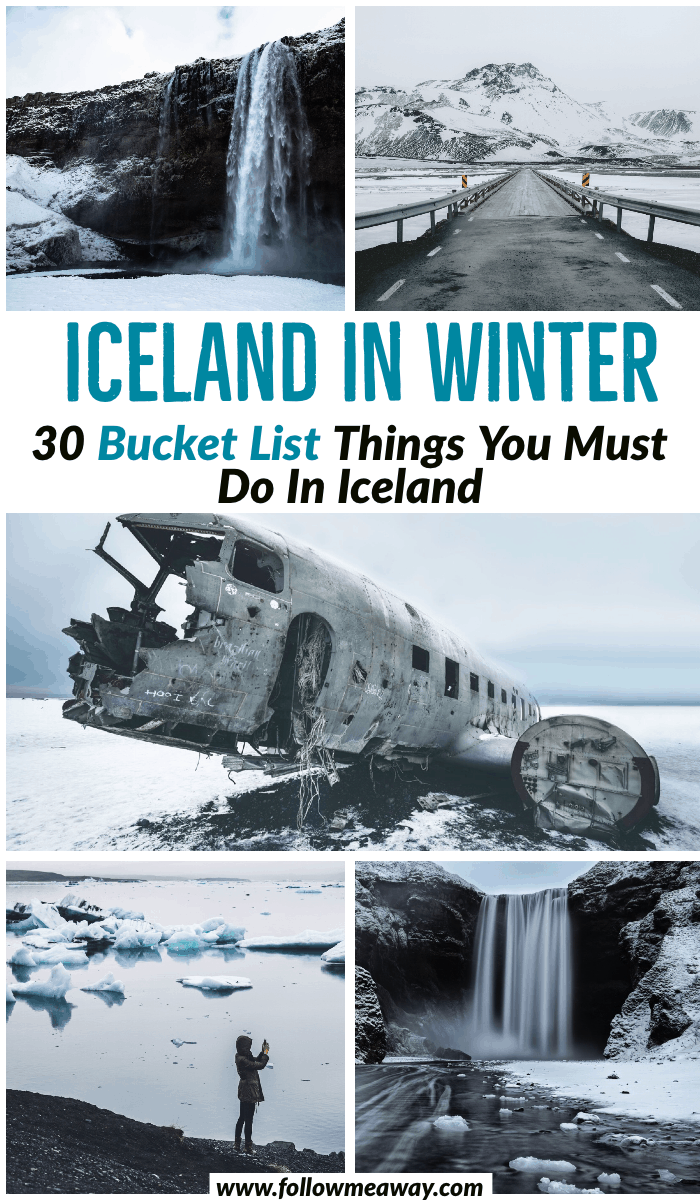 30 Bucket List Things To Do In Iceland In Winter | What to do in Iceland | top things to do in Iceland | Iceland travel tips | how to plan a trip to Iceland | what to do in Iceland in winter | things to do in Iceland during the winter | Iceland bucket list #iceland #bucketlist #travel