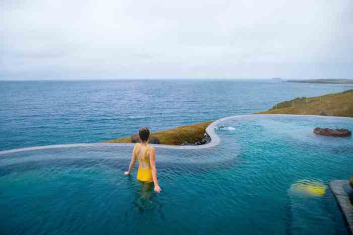 Geosea baths are the newest hot springs in Iceland