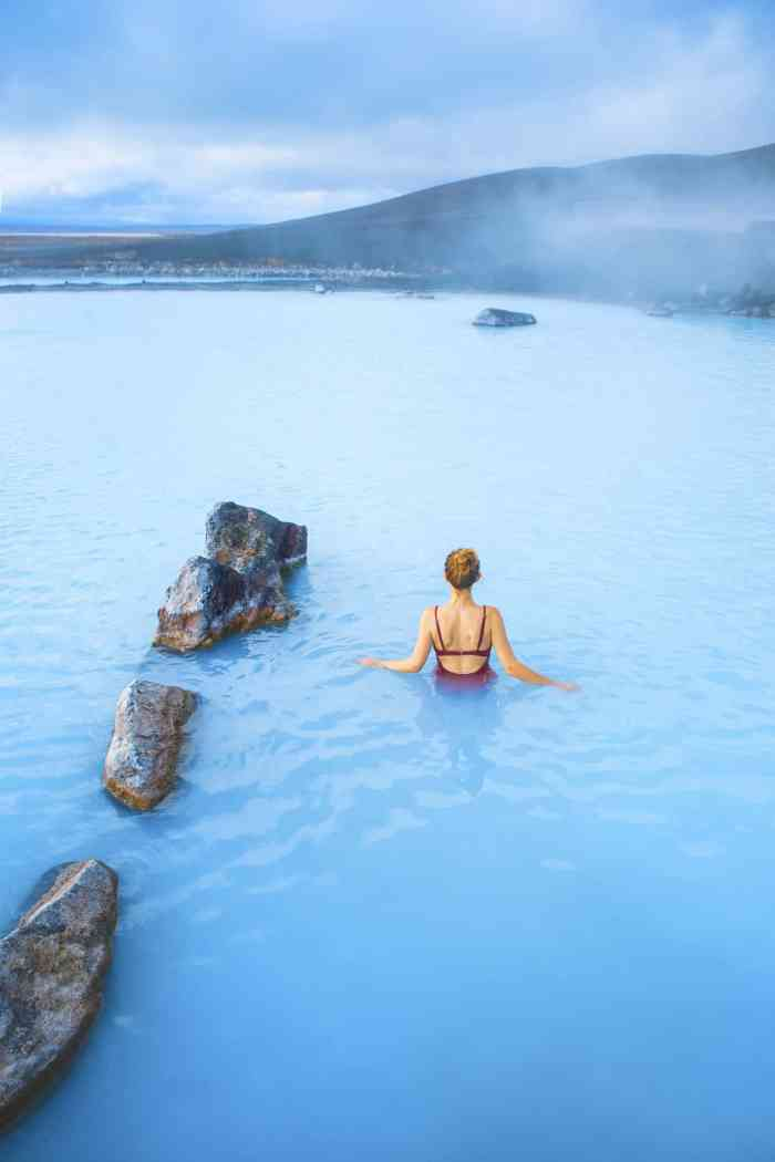 Myvatn Nature Baths In Iceland are known as the blue lagoon Iceland of the North. They are one of the best hot springs in Iceland