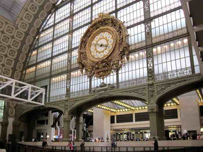 visit Musee d'Orsay on your paris itinerary
