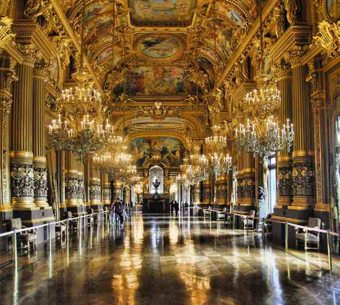 opera garnier in paris is one of the most beautiful places in paris