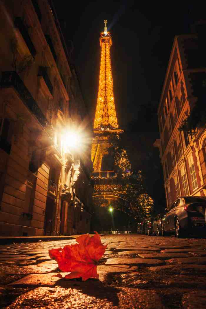 Eiffel tower photography location in Paris