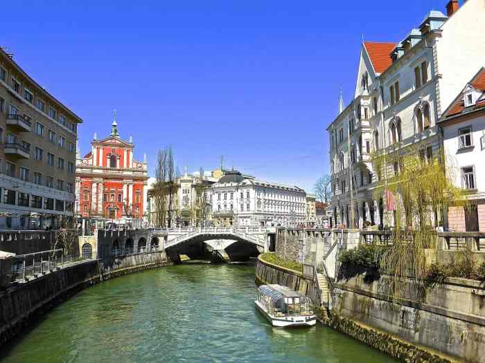Ljubljana Slovenia is the most romantic city in europe