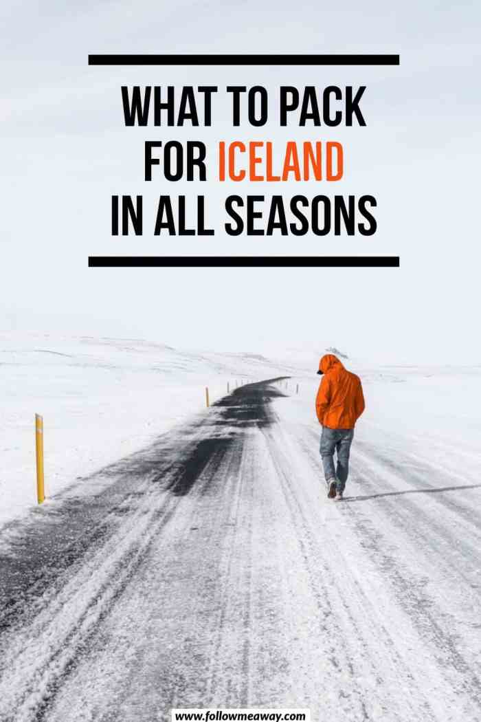 What To Wear In Iceland In Winter Or Summer | What to wear in iceland for all seasons | Iceland packing list | packing for iceland | what to pack for iceland | iceland travel tips