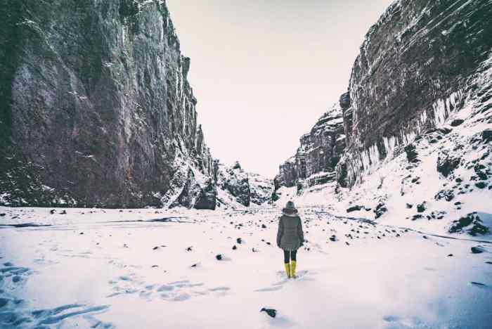 What To Wear In Iceland In Winter for women | women's iceland packing list for winter