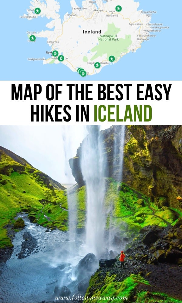 11 Best Easy Hikes In Iceland That Will Blow Your Mind | Where to Hike In Iceland | What to do in Iceland | Top things to do in Iceland | Iceland travel tips | Iceland hiking tips | Hiking in Iceland for beginners | easy hikes in Iceland | Iceland travel itinerary #iceland