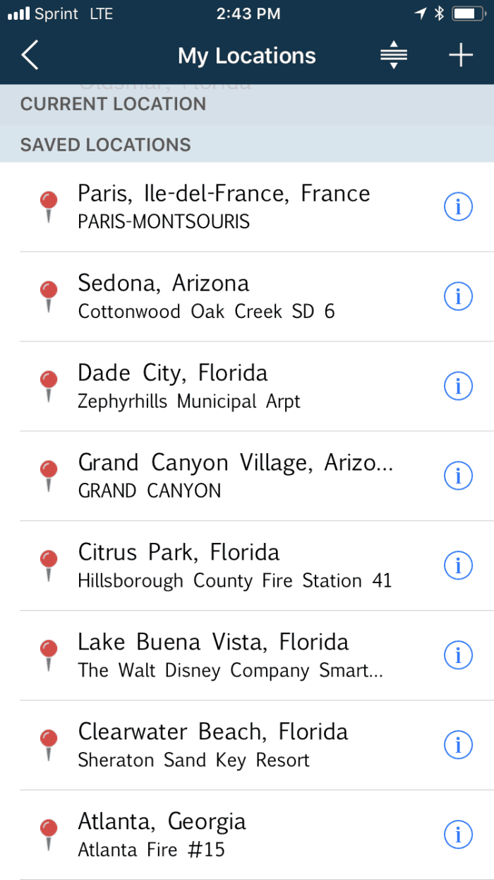 Weatherbug Best Road Trip Planner Apps To Help Plan Your Adventure | how to plan a road trip using apps