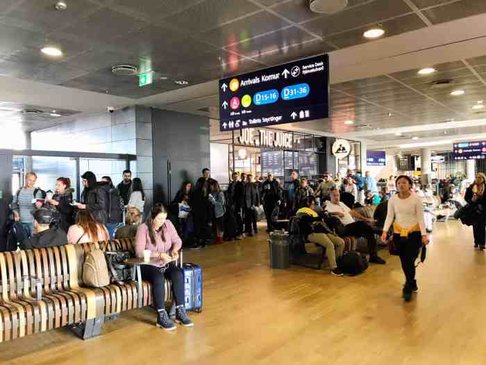 Withdraw currency in Iceland from an ATM at Keflavik Airport