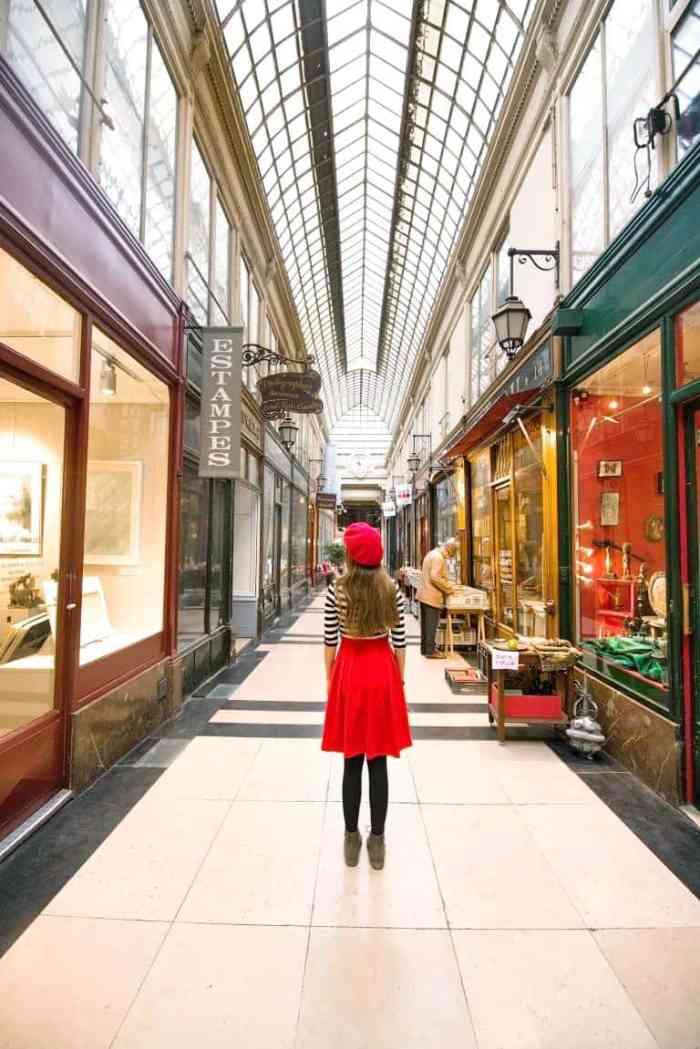 Passage Verdeau is one of the best covered passages in Paris due to the unique antique shops | paris travel tips
