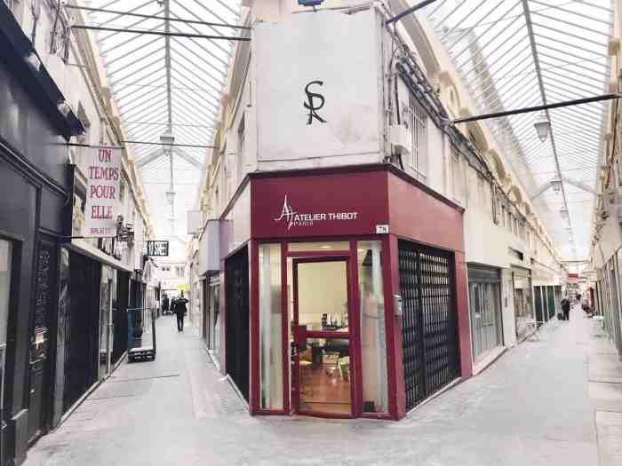 Passage du Caire covered passage in Paris #paris secret paris tips