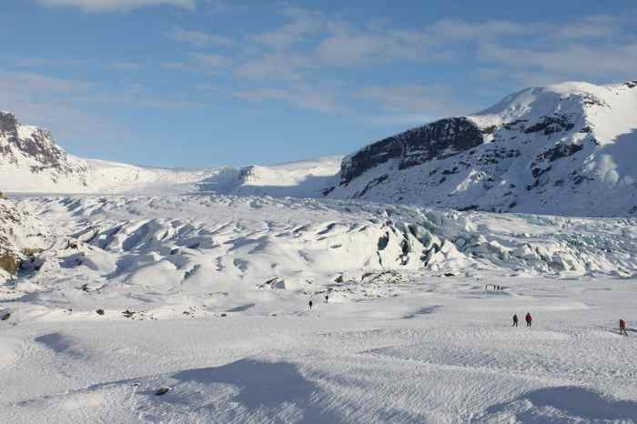 Hiking on a glacier in Iceland is a magical experience and a great tour