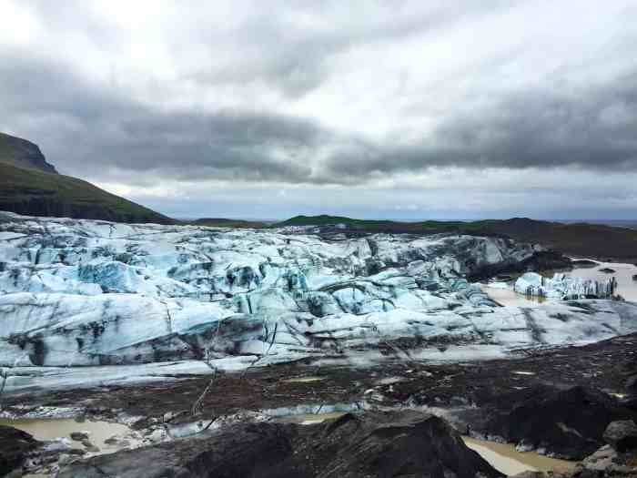 Visiting a glacier in Iceland on a tour is a memorable experience