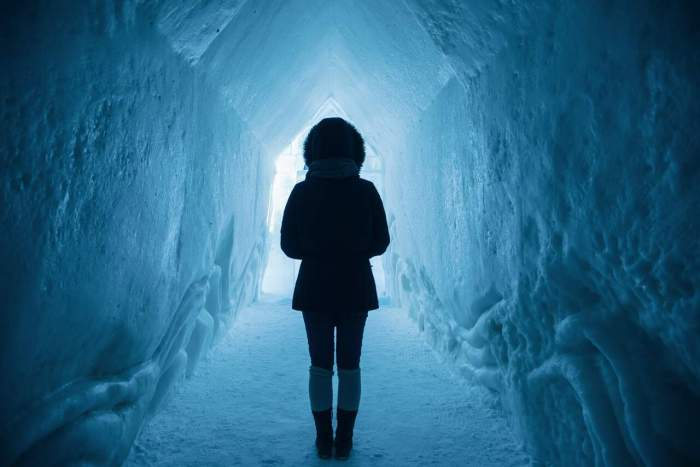 Go inside the glacier in a glacier tour in Iceland   ice caves in iceland