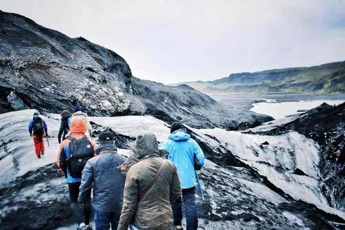 what to pack on an iceland glacier tour