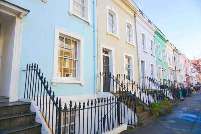 Bywater Street is one of the cutest colorful streets in London! | things to do in london