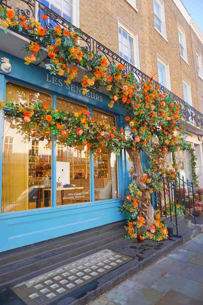Cute shopping streets in London | Ebury Street London