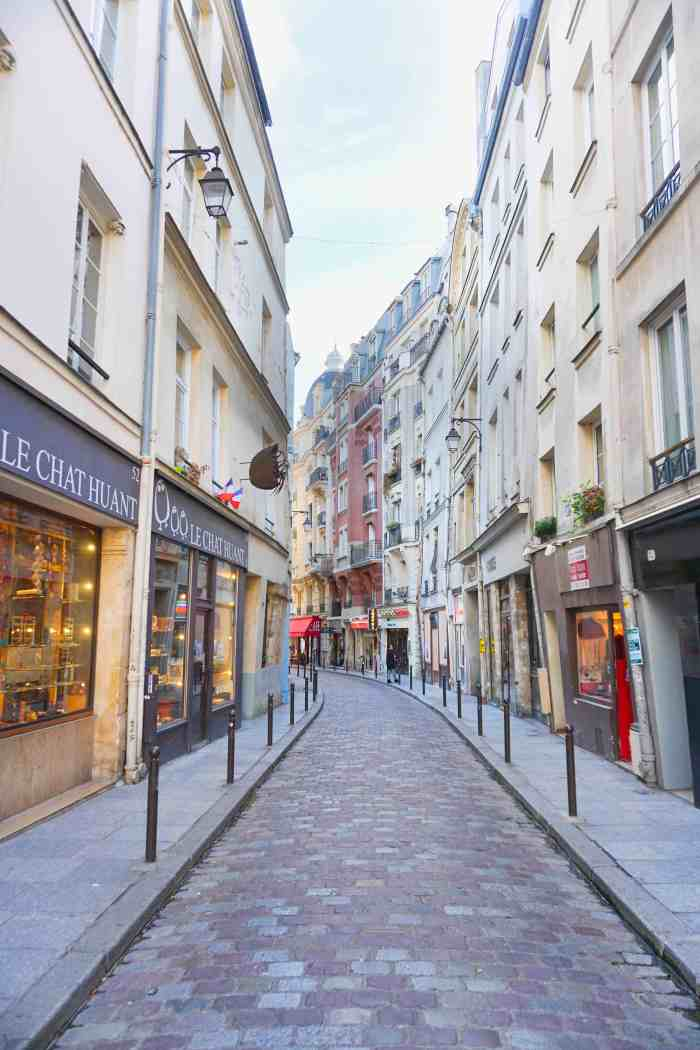 Rue Galande Street in Paris is perfect for shopping