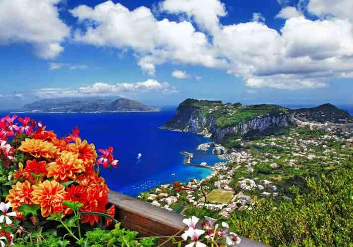 Capri is one of the most beautiful and well known Islands of Italy