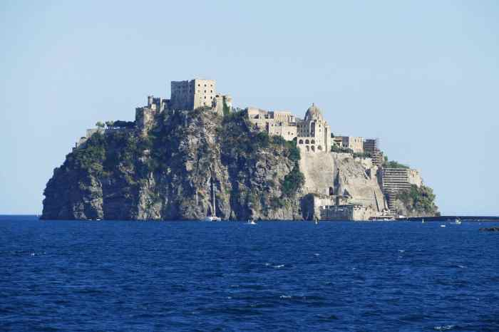 Ischia Is the Italian Island that is home to baths and volcanic warmed water
