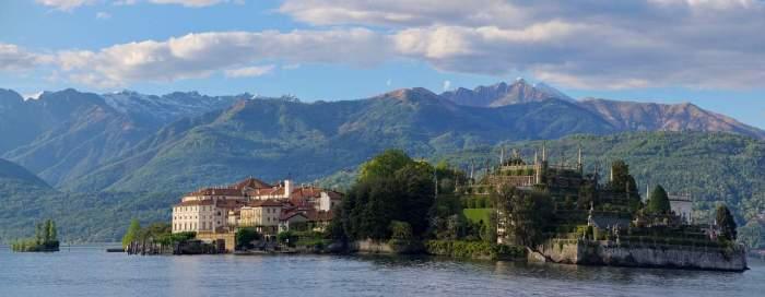 Isola Bella is a beautiful italian island on a lake in northern Italy