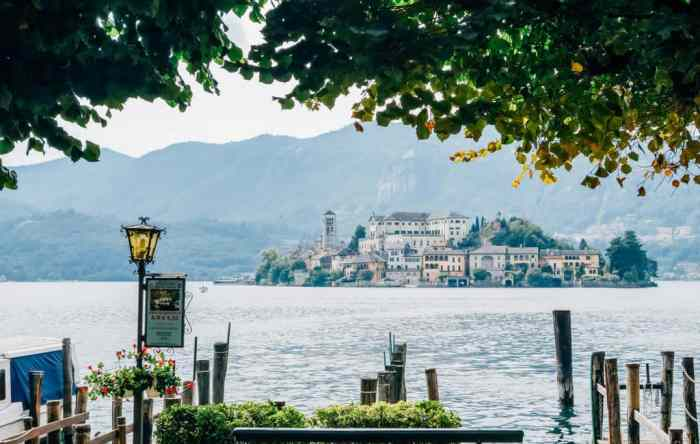 Isola San Giulio Is one of the Islands in Italy that is located on a beautiful Lake!