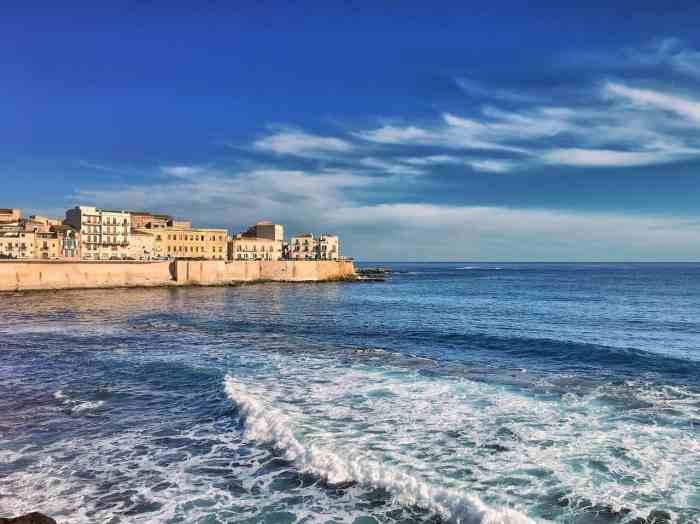 Ortigia is an Italian Island off the coast of Sicily in Italy