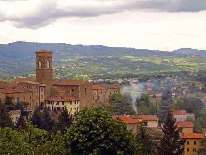 Poppi in Tuscany is a great place for wine in tuscany