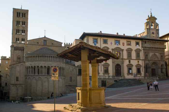 Visit Arezzo on your The Ultimate Tuscany Road Trip Itinerary