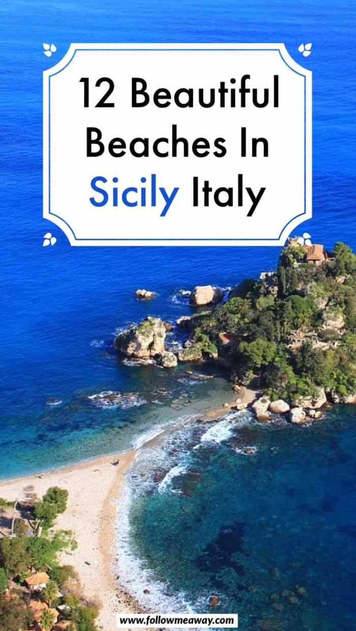 12 Beautiful Beaches In Sicily + Map To Find Them | Best things to do in Sicily Italy | Italy travel tips | what to do in Sicily | Italy travel tips to visit the beach
