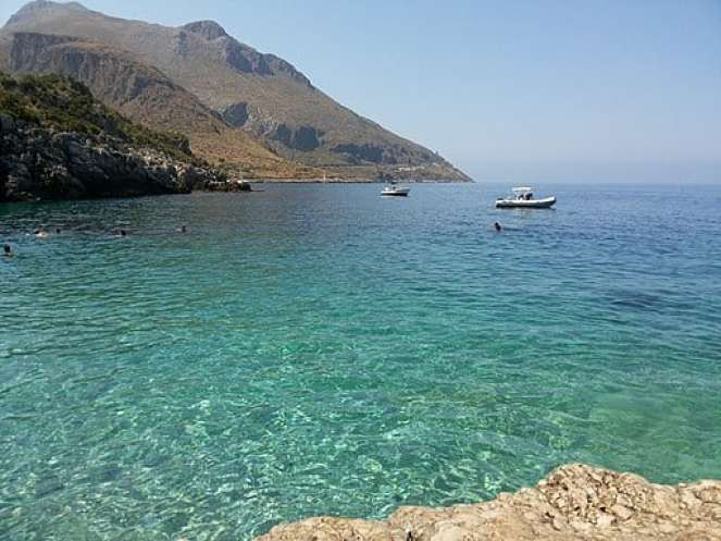 This is one of the best beaches in Sicily Riserva Naturale Dello Zingaro