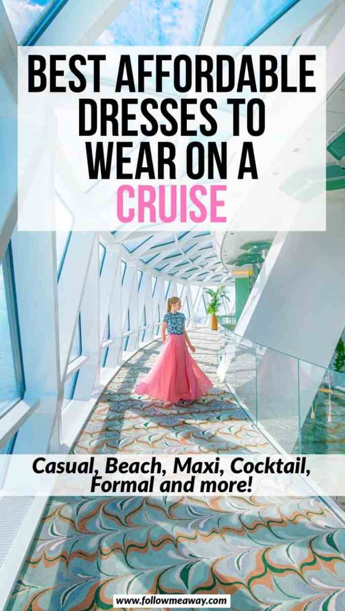 Best affordable dresses to wear on a cruise   cruise packing tips   what to wear on a cruise   cruise formal night   packing for a cruise for your first time   best dresses to pack for a cruise