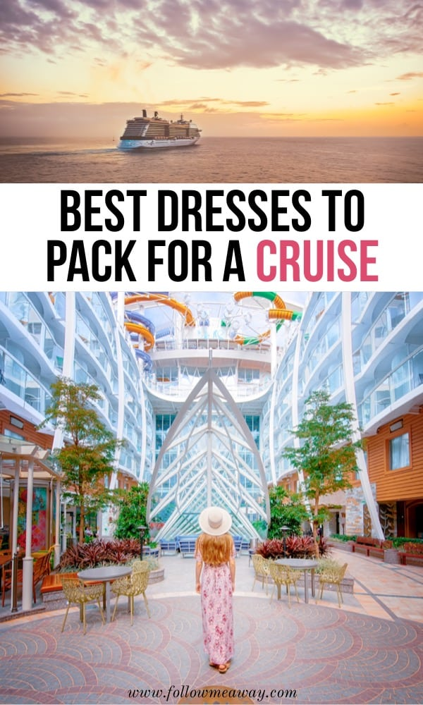 Best dresses to pack for a cruise   Best Affordable Cruise Dresses From Casual To Cocktail   formal dresses for a cruise   beach cruise dresses   cruise packing list   what to wear on a cruise in the Caribbean   how to pack for a Caribbean cruise