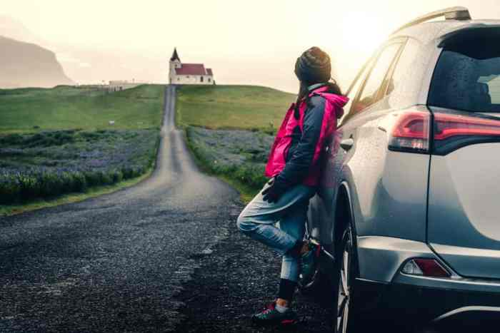 driving in Iceland during your 5 day Iceland road trip itinerary