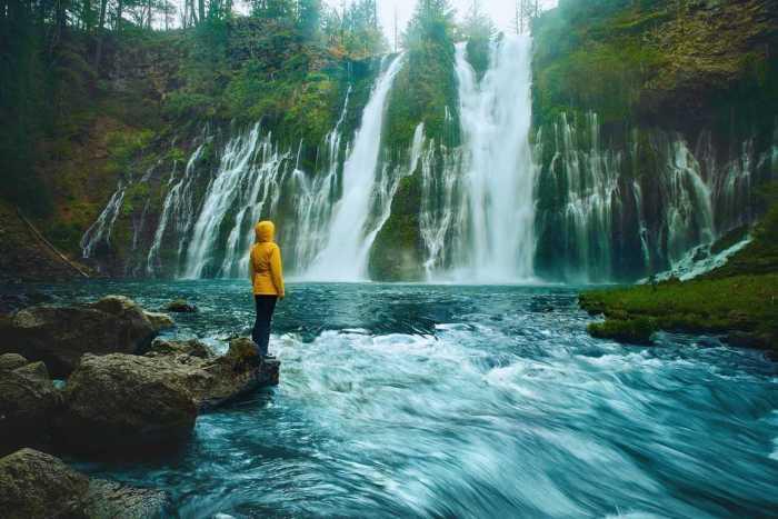 burney falls is an amazing west coast usa destination