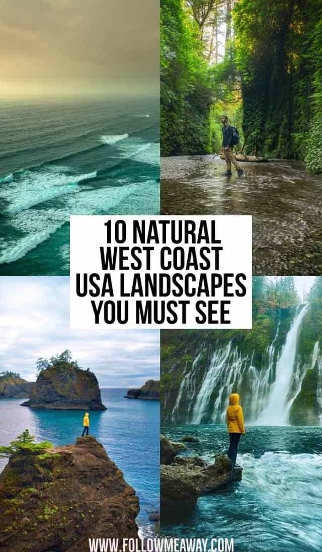 10 natural west coast usa landscapes you must see | beautiful west coast destinations | best views on the west coast | best coastal views on the west coast | best unknown locations on the west coast