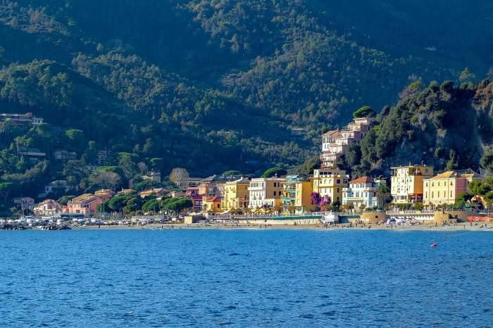 Monterosso Cinque Terre from a distance