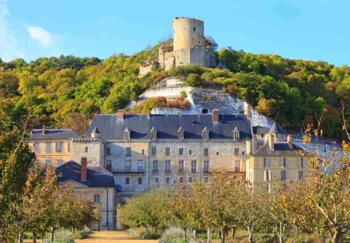 La Roche-Guyon Is A Sight To See In Northern France, You Will Not Be Disappointed