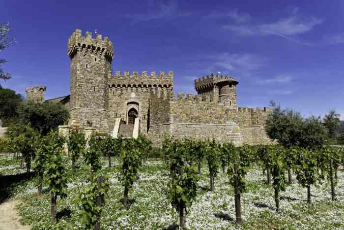 Napa Wine Tour With Castello Di Amorosa & Lunch on this San Francisco wine tours itinerary