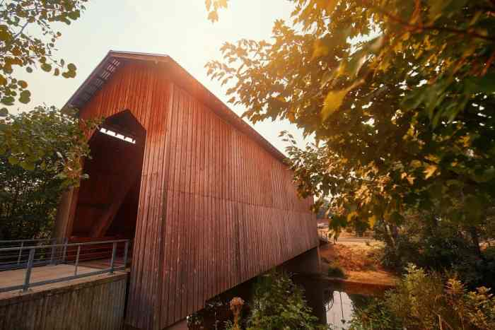Drive Through Covered Bridges On Your Oregon Road Trip In Cottage Grove