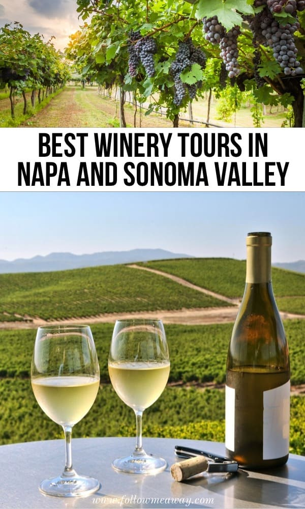 Best winery tours in Napa and Sonoma valley in California | Hands Down, These Are The 5 Best San Francisco Wine Tours | Best wineries in Sonoma county | Best napa valley wine experiences | California wine travel tips | best winery tours in California