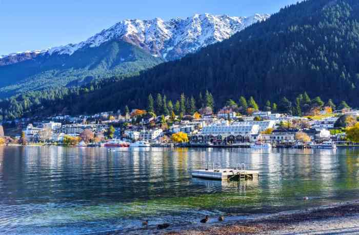 Queenstown Is The Prettiest City On New Zealand's South Island