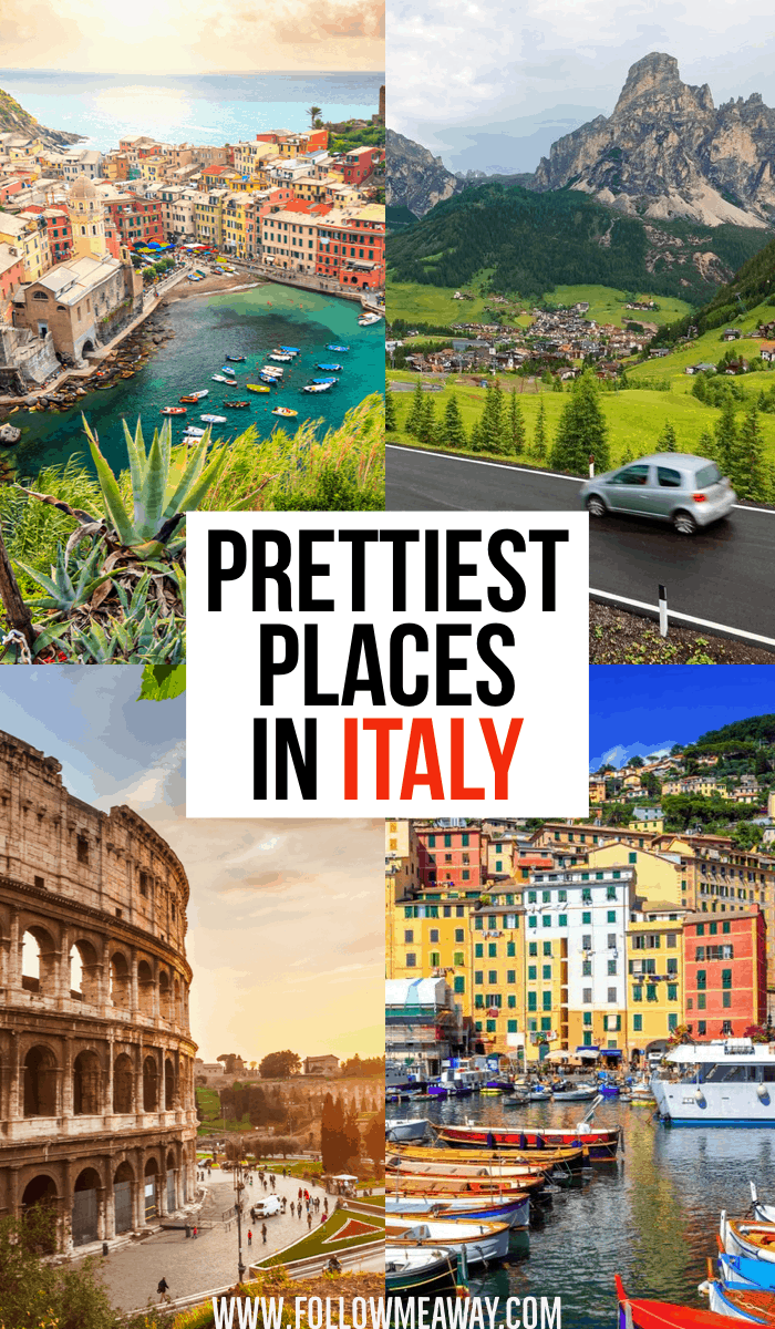 Prettiest Places In Italy