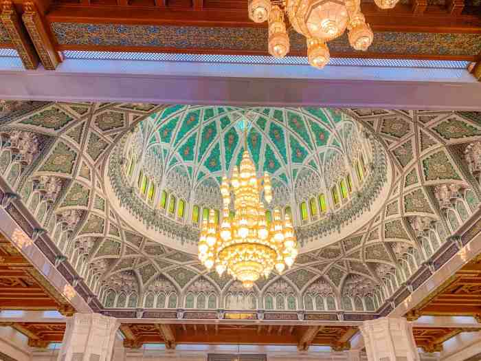 Marvel At Muscat's Sultan Qaboos Grand Mosque